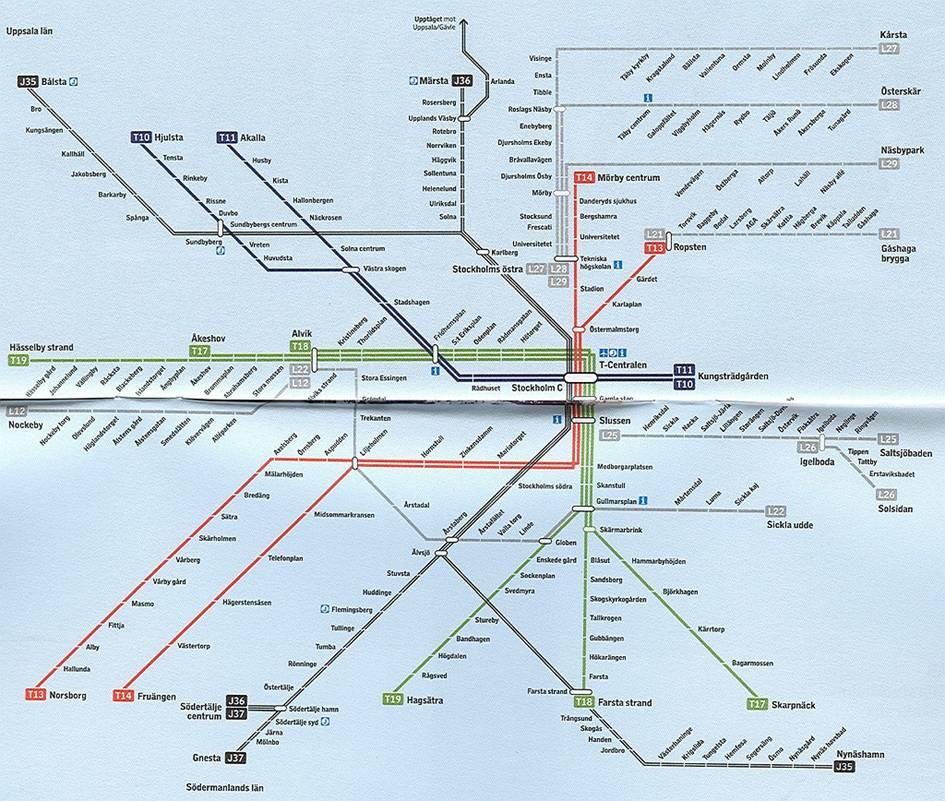Поезд на станции «Morby